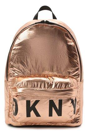 Детская рюкзак DKNY золотого цвета, арт. D30510   Фото 1
