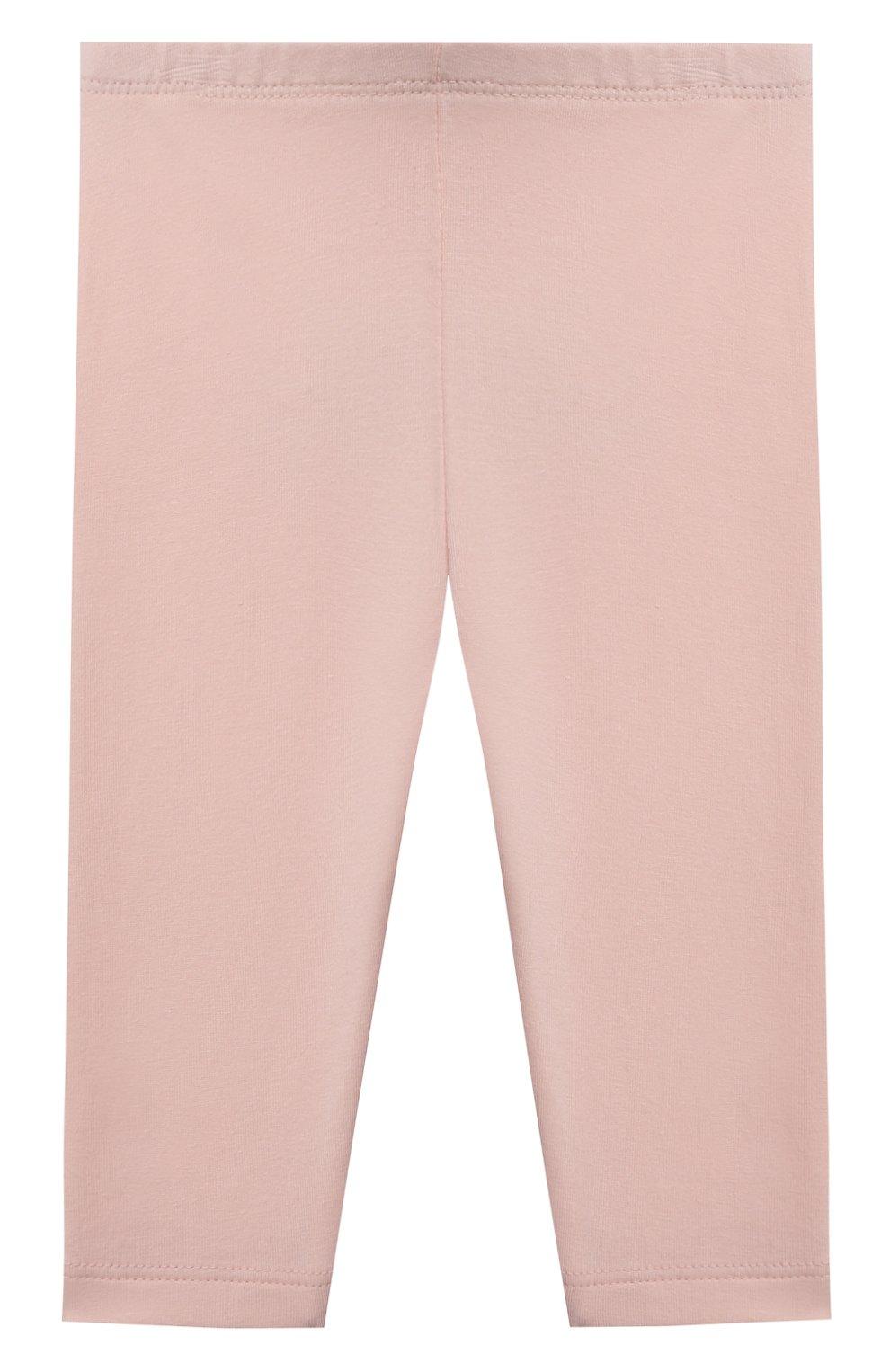 Детские хлопковые брюки SANETTA FIFTYSEVEN розового цвета, арт. 906925. | Фото 1