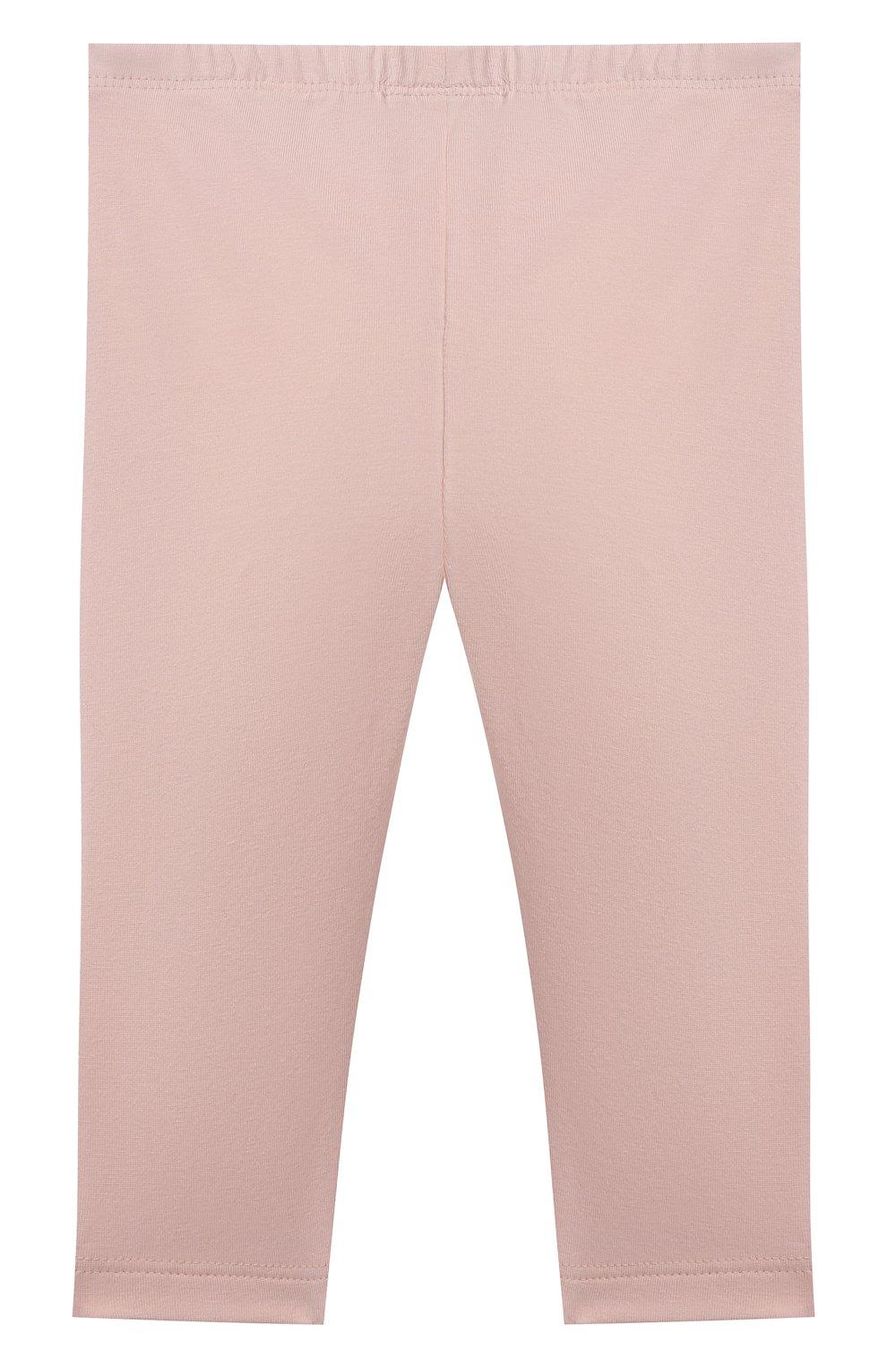 Детские хлопковые брюки SANETTA FIFTYSEVEN розового цвета, арт. 906925. | Фото 2