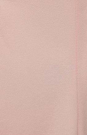 Детские хлопковые брюки SANETTA FIFTYSEVEN розового цвета, арт. 906925. | Фото 3