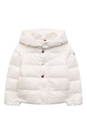 Детский комплект из куртки и брюк MONCLER белого цвета, арт. G1-951-1F510-00-53048 | Фото 2