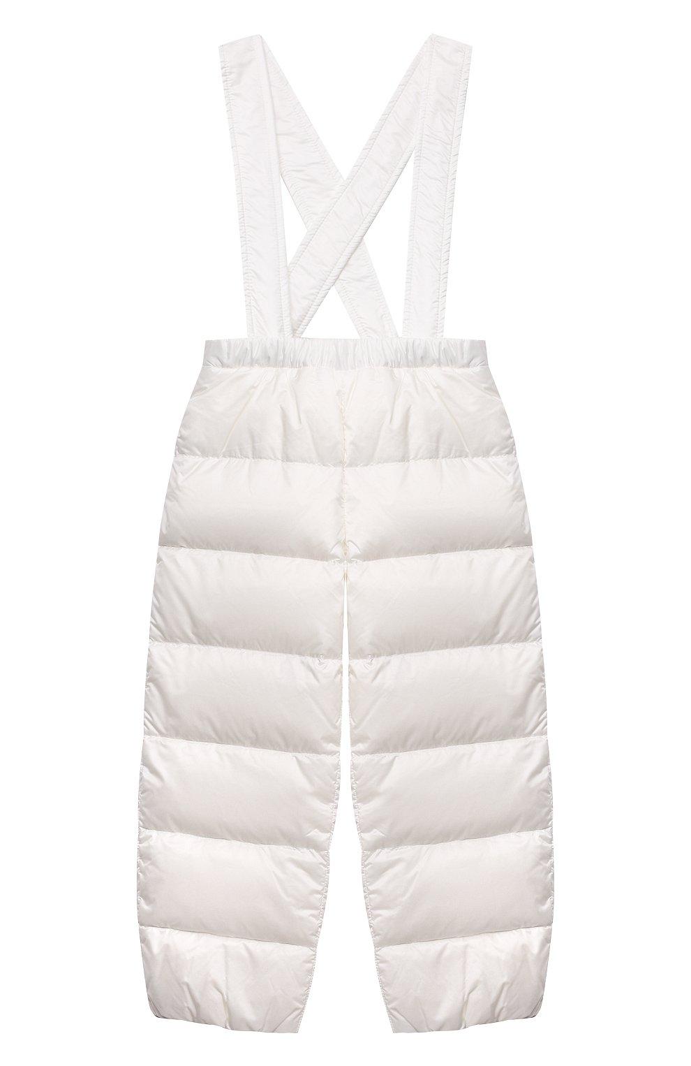 Детский комплект из куртки и брюк MONCLER белого цвета, арт. G1-951-1F510-00-53048 | Фото 4