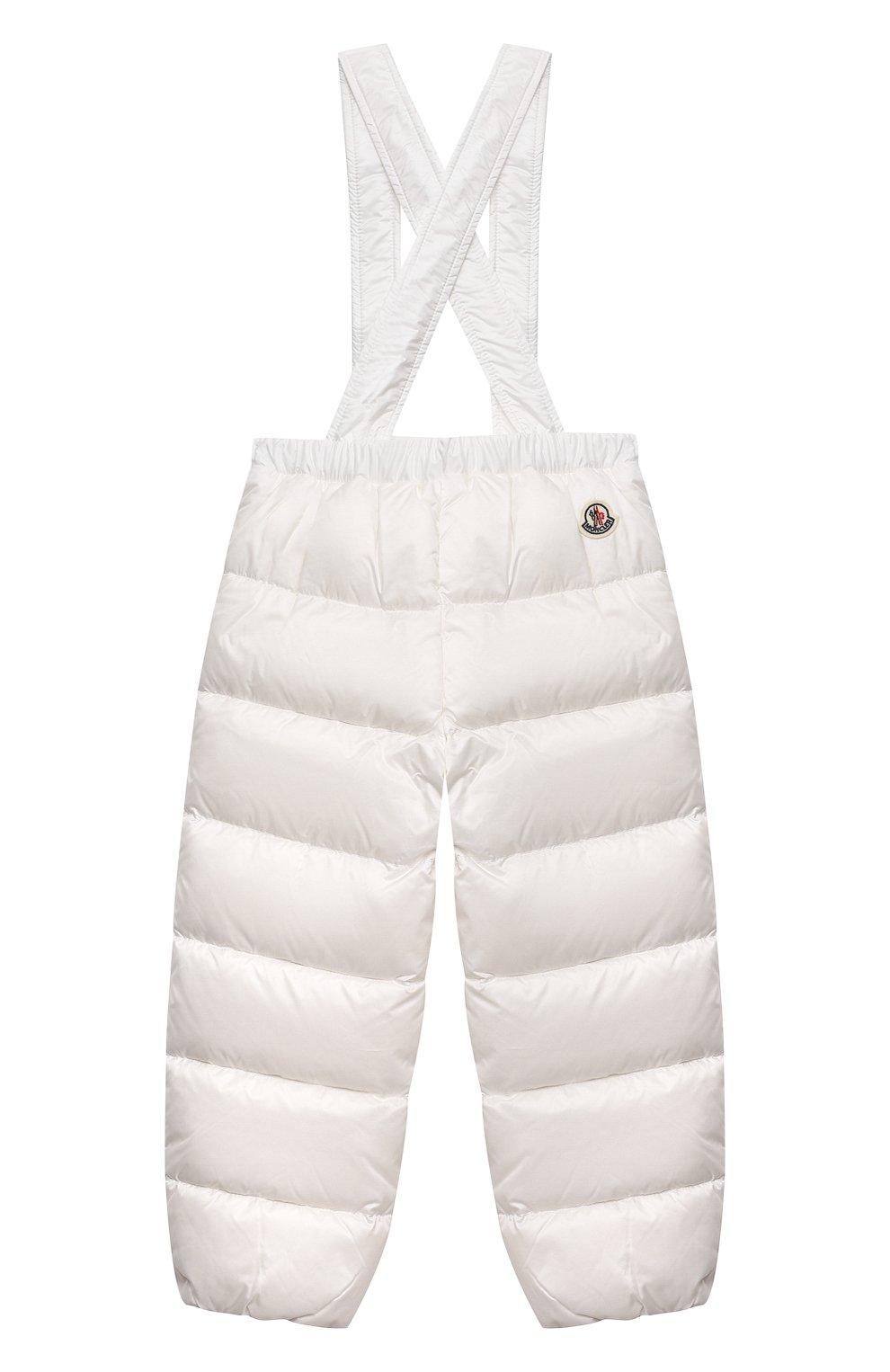 Детский комплект из куртки и брюк MONCLER белого цвета, арт. G1-951-1F510-00-53048 | Фото 5
