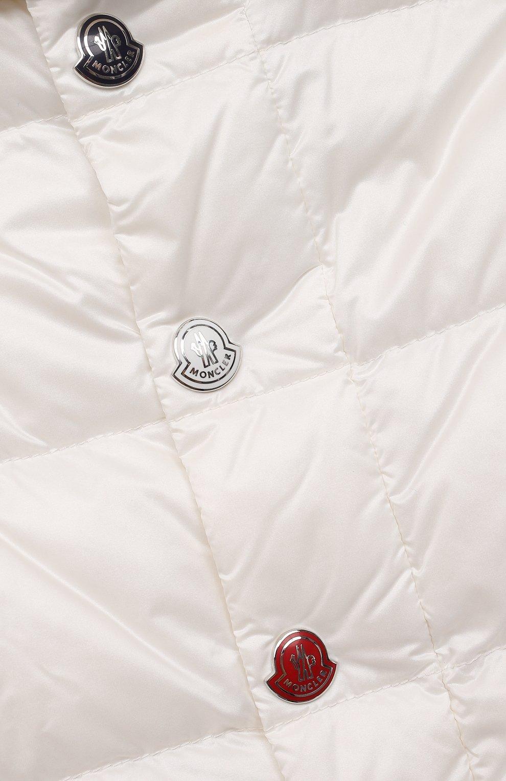 Детский комплект из куртки и брюк MONCLER белого цвета, арт. G1-951-1F510-00-53048 | Фото 6