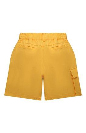 Детские шерстяные шорты FENDI желтого цвета, арт. JFF226/AEXR/8A-12+ | Фото 2