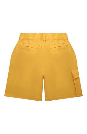 Детские шерстяные шорты FENDI желтого цвета, арт. JFF226/AEXR/3A-6A | Фото 2