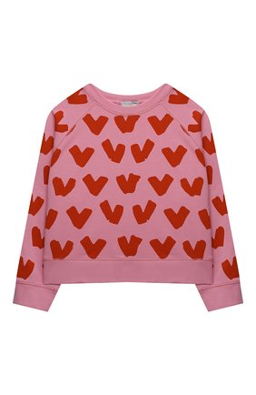 Детская комплект из свитшота и брюк STELLA MCCARTNEY розового цвета, арт. 602851/SQJD4 | Фото 2