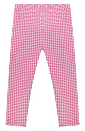 Детские хлопковые леггинсы POLO RALPH LAUREN розового цвета, арт. 311833609 | Фото 2