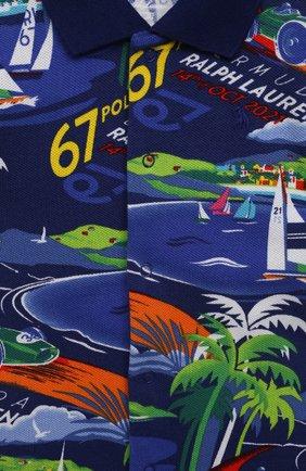 Детское хлопковый комбинезон POLO RALPH LAUREN разноцветного цвета, арт. 320838183 | Фото 3
