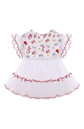 Хлопкковое платье | Фото №2