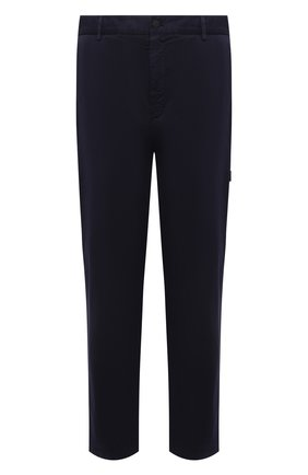 Мужские хлопковые брюки 5 moncler craig green MONCLER GENIUS темно-синего цвета, арт. G1-09H-2A000-02-M1248 | Фото 1 (Материал внешний: Хлопок; Случай: Повседневный; Длина (брюки, джинсы): Стандартные; Стили: Кэжуэл)