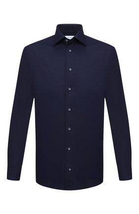 Мужская хлопковая сорочка ETON темно-синего цвета, арт. 1000 02195   Фото 1