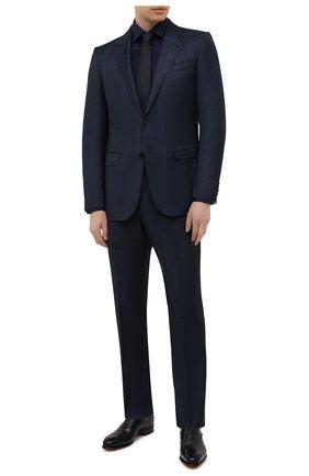 Мужская хлопковая сорочка ETON темно-синего цвета, арт. 1000 02195   Фото 2