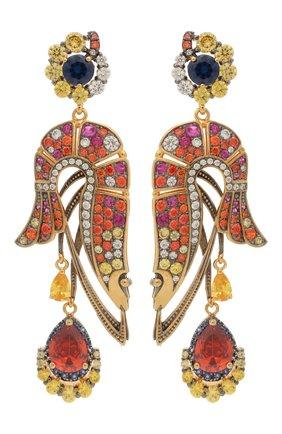 Женские серьги QUEENSBEE разноцветного цвета, арт. 202397/17,58   Фото 1