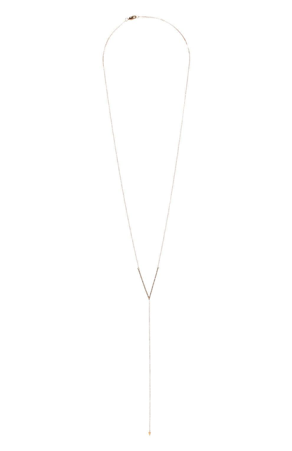 Женское колье J-POINT золотого цвета, арт. ИПГ857.23.170321.20P | Фото 1 (Материал: Золото)