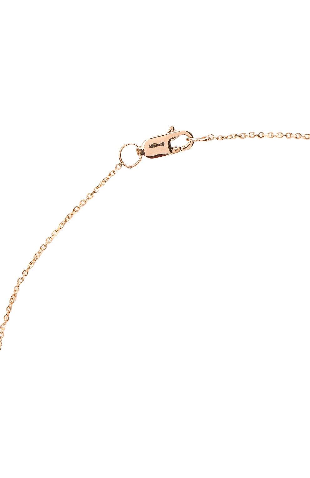 Женское колье J-POINT золотого цвета, арт. ИПГ857.23.170321.20P | Фото 3 (Материал: Золото)