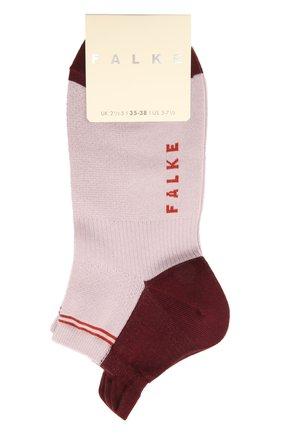 Женские хлопковые носки FALKE сиреневого цвета, арт. 46410 | Фото 1
