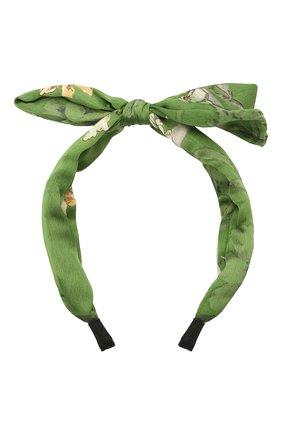 Женский ободок EXCLAIM зеленого цвета, арт. 038GRE2860H   Фото 1