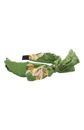 Женский ободок EXCLAIM зеленого цвета, арт. 038GRE2860H   Фото 2