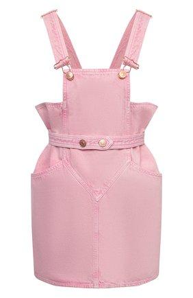 Женский джинсовый комбинезон ISABEL MARANT светло-розового цвета, арт. R01968-21E020I/D0LESSA   Фото 1