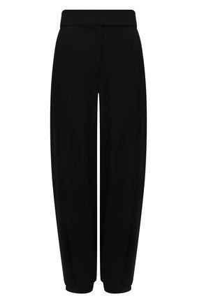 Женские брюки из вискозы ALEXANDRE VAUTHIER черного цвета, арт. 212PA1351 1451-212   Фото 1