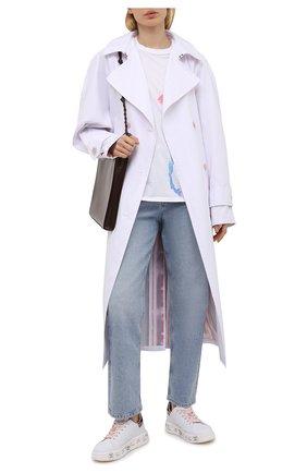 Женские кожаные кеды belle PREMIATA белого цвета, арт. BELLE/VAR5147 | Фото 2