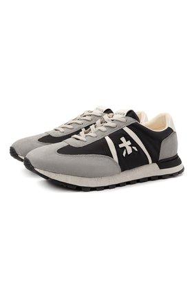 Мужские комбинированные кроссовки john-low PREMIATA разноцветного цвета, арт. J0HNL0W/VAR5184 | Фото 1