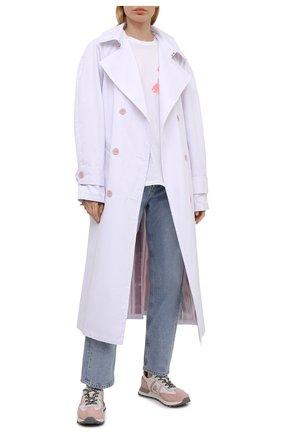 Женские комбинированные кроссовки john-low-d PREMIATA розового цвета, арт. J0HNL0WD/VAR5176 | Фото 2