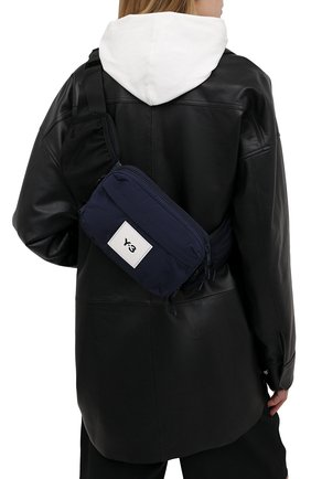 Женская поясная сумка Y-3 темно-синего цвета, арт. GT8921/W | Фото 2