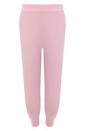 Женские кашемировые джоггеры EXTREME CASHMERE розового цвета, арт. 056/Y0GI | Фото 1
