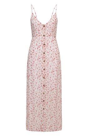 Женское платье из вискозы GANNI разноцветного цвета, арт. F5876 | Фото 1