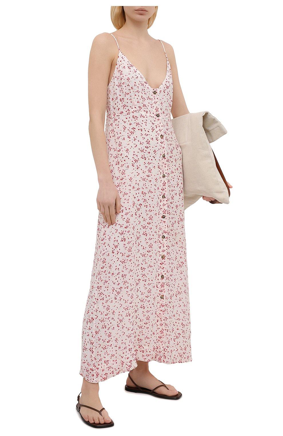 Женское платье из вискозы GANNI разноцветного цвета, арт. F5876 | Фото 2