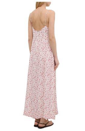 Женское платье из вискозы GANNI разноцветного цвета, арт. F5876 | Фото 4