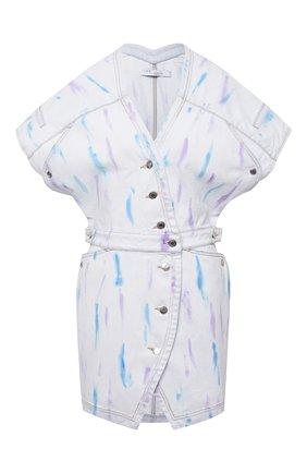 Женское джинсовое платье IRO разноцветного цвета, арт. WM33MEUZAL | Фото 1