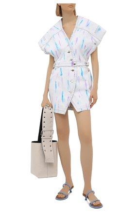 Женское джинсовое платье IRO разноцветного цвета, арт. WM33MEUZAL | Фото 2