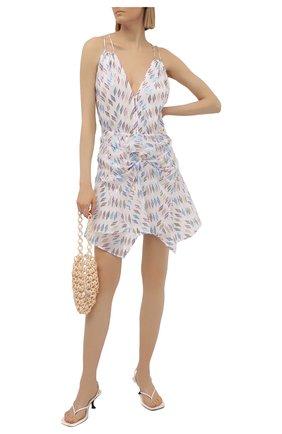 Женское шелковое платье IRO разноцветного цвета, арт. WM33CHERRIE   Фото 2