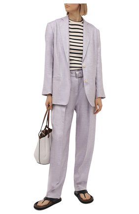 Женские брюки IRO сиреневого цвета, арт. WM23NAJAVA | Фото 2