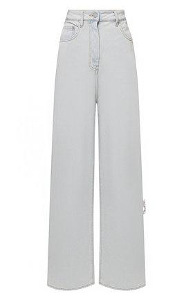 Женские джинсы OFF-WHITE светло-голубого цвета, арт. 0WYA028S21DEN003 | Фото 1