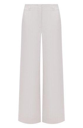 Женские льняные брюки LORO PIANA светло-бежевого цвета, арт. FAL6317 | Фото 1