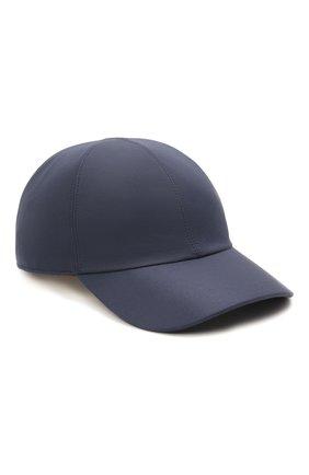 Мужской шелковая бейсболка LORO PIANA синего цвета, арт. FAL6119 | Фото 1