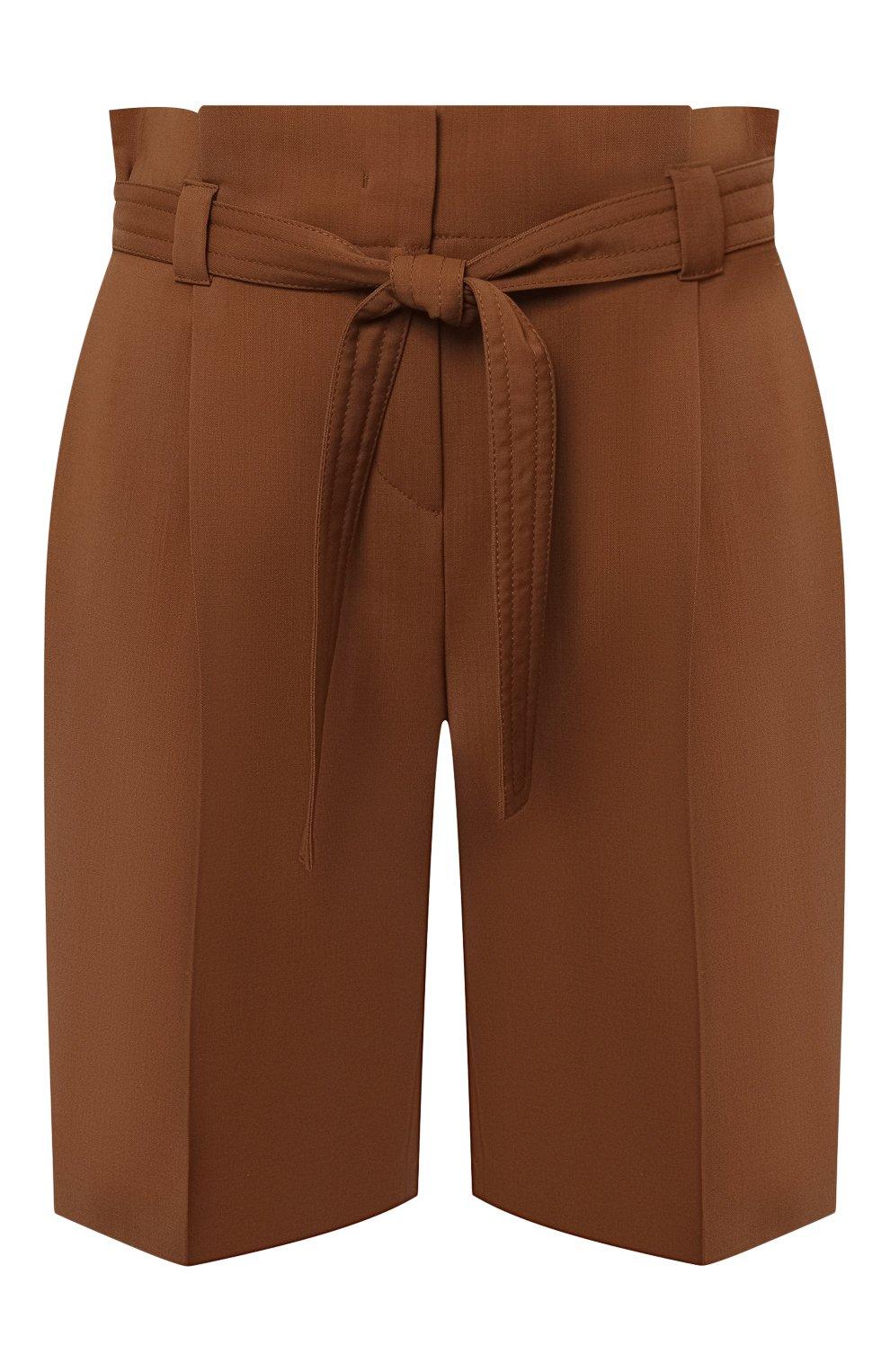 Женские шерстяные шорты WINDSOR коричневого цвета, арт. 52 DH565 10011410 | Фото 1