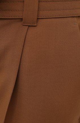 Женские шерстяные шорты WINDSOR коричневого цвета, арт. 52 DH565 10011410 | Фото 5