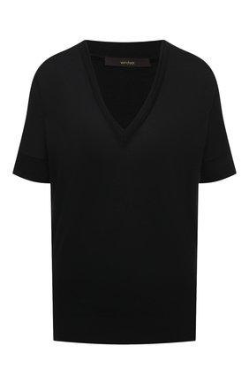 Женский топ WINDSOR черного цвета, арт. 52 DT513 10005529 | Фото 1