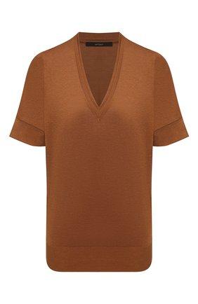 Женский топ WINDSOR коричневого цвета, арт. 52 DT513 10005529 | Фото 1