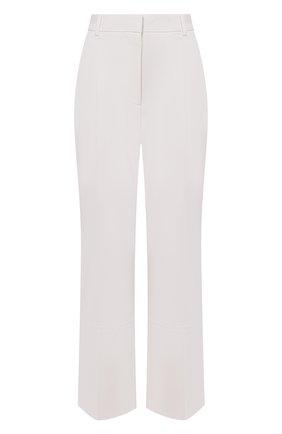 Женские шерстяные брюки VICTORIA BECKHAM белого цвета, арт. 1221WTR002763B | Фото 1