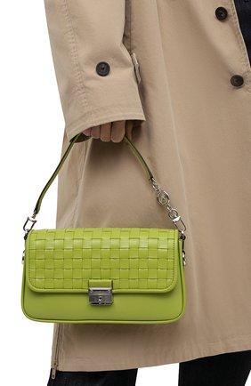 Женская сумка bradshaw small MICHAEL MICHAEL KORS зеленого цвета, арт. 30S1S2BL1T | Фото 2