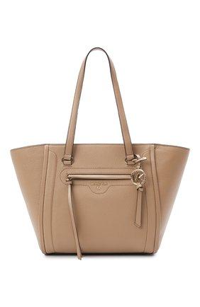 Женский сумка-тоут carine medium MICHAEL MICHAEL KORS бежевого цвета, арт. 30S1LCCT3L | Фото 1