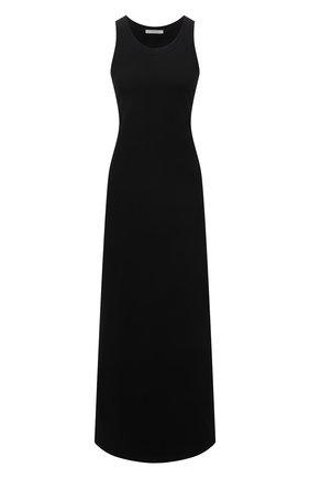 Женское хлопковое платье THE ROW черного цвета, арт. 3983K220 | Фото 1