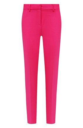Женские шерстяные брюки VERSACE фуксия цвета, арт. A89061/1F01050 | Фото 1