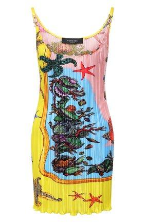 Женское платье VERSACE разноцветного цвета, арт. A89018/1F01267 | Фото 1